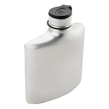 GSI Outdoors Glacier Stainless 6 oz. Hip Flask