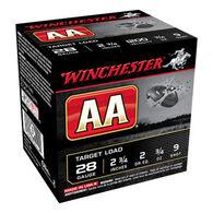 """Winchester AA Target 28 GA 2-3/4"""" 3/4 oz. #9 Shotshell Ammo (25)"""