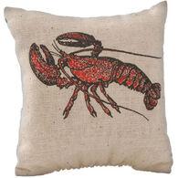 """Maine Balsam Fir 4"""" x 4"""" Lobster Balsam Pillow"""