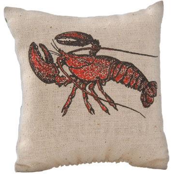 Maine Balsam Fir 4 x 4 Lobster Balsam Pillow