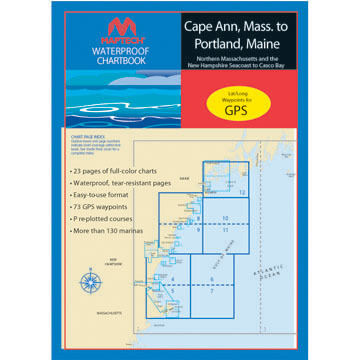 Maptech Waterproof Chartbooks of New England