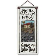"Spooner Creek ""Lake Time"" Large Talls Tile"