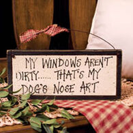 Timeless By Design Dog Art Sign