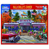 White Mountain Jigsaw Puzzle - Bill & Sally's Diner