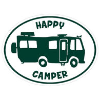 Sticker Cabana Happy Camper Sticker