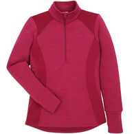Avalanche Women's Twist Half-Zip Pullover Long-Sleeve Shirt