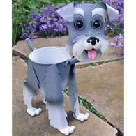 Georgetown Mini Schnauzer Painted Planter