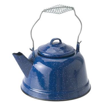 GSI Outdoors Enamelware Tea Kettle