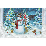 Pumpernickel Press Show Time Snowman Deluxe Boxed Greeting Cards