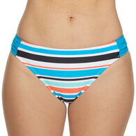 Sol Collective Women's Striped Hipster Swimsuit Bottom