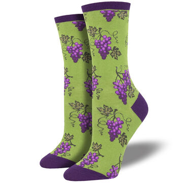Socksmith Design Womens One Fine Vine Crew Sock