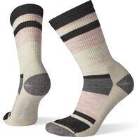 SmartWool Women's Striped Light Cushion Hiking Crew Sock