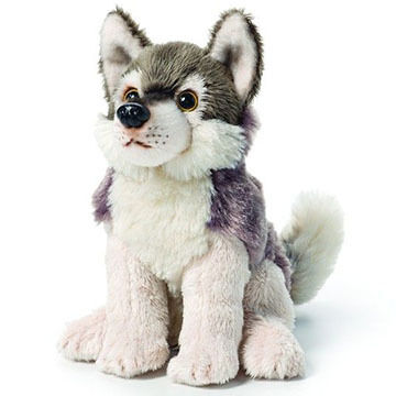 Nat & Jules Wolf Beanbag Stuffed Animal