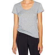 Lucy Women's Workout Short-Sleeve T-Shirt