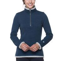 Kuhl Women's Alska 1/4-Zip Fleece Long-Sleeve Shirt