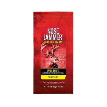 Nose Jammer Dryer Sheets - 15 Pack