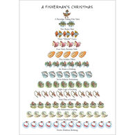Allport Editions A Fisherman's 12-Days of Christmas Boxed Holiday Cards