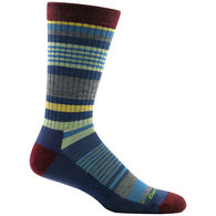 Darn Tough Vermont Men's Unstandard Stripe Light Cushion Crew Sock