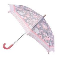 Stephen Joseph Girl's Floral Umbrella