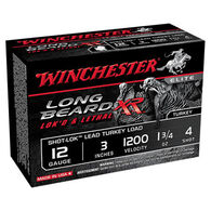 "Winchester Long Beard XR 12 GA 3"" 1-3/4 oz. #4 Shotshell Ammo (10)"