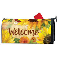 MailWraps Yellow Sunflower Magnetic Mailbox Cover