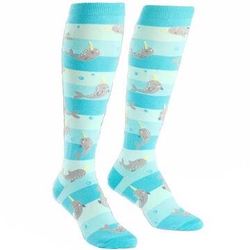 Sock It To Me Womens Unicorn Of The Sea Sock