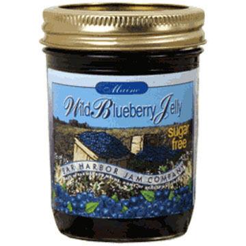 Bar Harbor Jam Company Sugar Free Blueberry Jelly