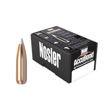 "Nosler AccuBond 30 Cal. 165 Grain .308"" Spitzer Point Rifle Bullet (50)"
