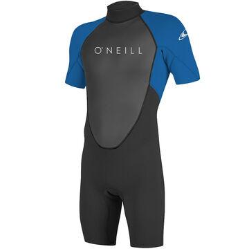 ONeill Mens Reactor II 2MM Back-Zip Short-Sleeve Spring Wetsuit