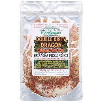 White Mountain Pickle Co. Double Dirty Dragon Sriracha Hellfire Pickling Kit