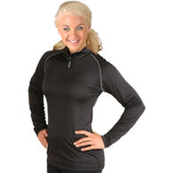 WSI Women's Full Heatr 1/4-Zip Long-Sleeve Shirt
