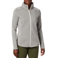 Columbia Women's Canyon Point Sweater Fleece Full-Zip Jacket