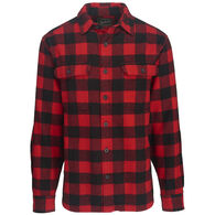 Woolrich Men's Oxbow Bend Plaid Flannel Long-Sleeve Shirt