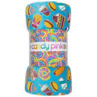Candy Pink Junk Food Blanket