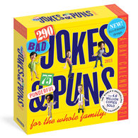 290 Bad Jokes & 75 Punderful Puns 2021 Page-A-Day Calendar by Workman Publishing