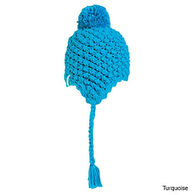 Turtle Fur Women's Wiggly Jiggly Earflap Hat