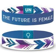 Unselfie Women's Future Is Female Wrist Band