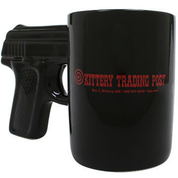 AGS Brands Black Pistol Mug