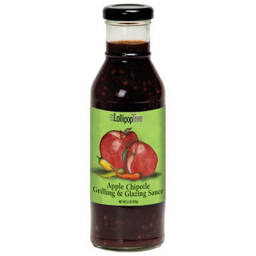 Lollipop Tree Apple Chipotle Grilling and Glazing Sauce, 15 oz.