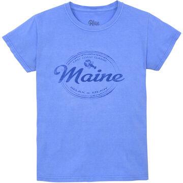 Lakeshirts Womens Berlioz Lobster Short-Sleeve T-Shirt