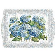 Keller Charles Blue Hydrangea Small Tray