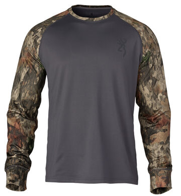 Browning Mens Hells Canyon Speed Riser-FM Long-Sleeve Shirt