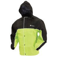 Frogg Toggs Men's Road Toad Reflective Rain Jacket