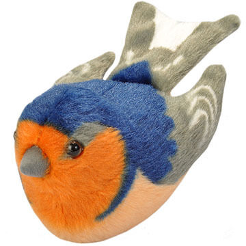 Wild Republic Audubon Stuffed Animal - Barn Swallow