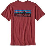 Patagonia Men's P-6 Logo Cotton Short-Sleeve T-Shirt
