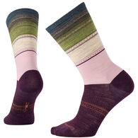 SmartWool Women's Sulawesi Stripe Crew Sock - Special Purchase