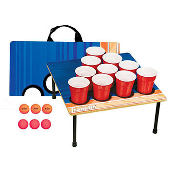 Franklin Sports Fold-N-Go 10 Cup Tailgate Game