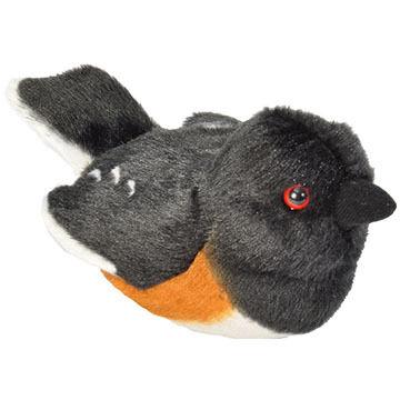 Wild Republic Audubon Stuffed Animal - Eastern Towhee