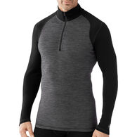 SmartWool Men's Merino 250 Base Layer Pattern 1/4-Zip Top
