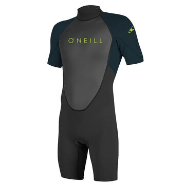 ONeill Youth Reactor-2 2MM Back-Zip Short-Sleeve Spring Wetsuit